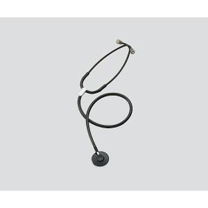 ナーシングスコープ プレミアム シングル内バネ式 No.110ブラック No.110 (アズワン(As-one)) (聴診器) shimayamedical