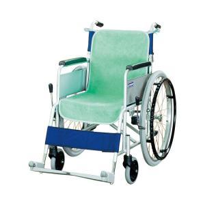 車椅子シートカバー(同色2枚入) グリーン (ケアメディックス) (車いす用小物) shimayamedical