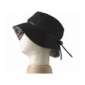アボネット+ジャリ ハットフラワー フリーサイズ ブラック 2081 (特殊衣料) (ヘッドギア)|shimayamedical