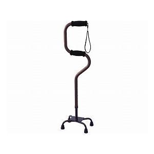 ・上下の2段グリップで、立ち座りがとても楽にできる4点杖。 ・歩行のサポートは上グリップ。 ・立ち上...