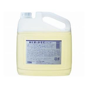 あたま&からだシャンプー 4L 00110084 (フェニックス) (清拭小物)|shimayamedical