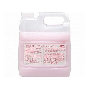 ハーブリンスインシャンプー 4L×4本 00090522 (フェニックス) (清拭小物)|shimayamedical