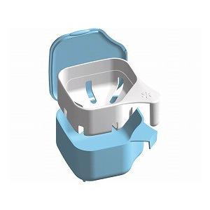 デントクリアカップ 入れ歯洗浄用 ブルー 239-003980-00 (小久保工業所) (口腔器材)|shimayamedical