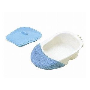 安寿 差し込み便器(専用カバー付) 533-701 (アロン化成) (差込便器・尿器類)|shimayamedical