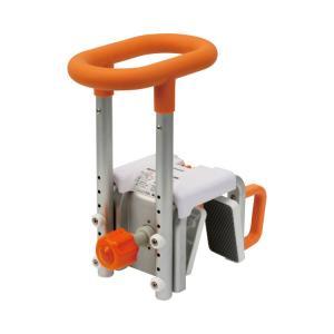 入浴グリップ[ユクリア]130 オレンジ PN-L12011D (パナソニック エイジフリーライフテック) (浴槽手すり)|shimayamedical