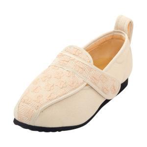 彩彩〜ジャガード〜 両足 婦人用 22.0cm ベージュ W902 (マリアンヌ製靴) (シューズ)