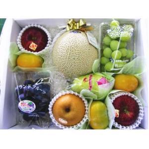 ギフト ご贈答 御祝 御礼 お供え 送料無料 静岡温室マスクメロン 1.5kg入り 季節のフルーツ 詰め合わせ A shimazaki-nouen 04