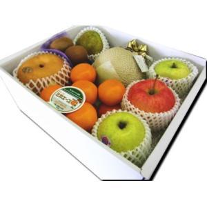 ギフト フルーツ 詰め合わせ ご贈答 御祝 御礼 お供え 送料無料 静岡温室マスクメロン 1.2kg入り 季節のフルーツ 詰め合わせB|shimazaki-nouen|02