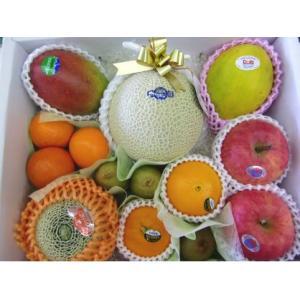 ギフト フルーツ 詰め合わせ ご贈答 御祝 御礼 お供え 送料無料 静岡温室マスクメロン 1.2kg入り 季節のフルーツ 詰め合わせB|shimazaki-nouen|06