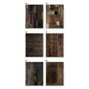 UVプリントメニューブック(合成紙)A4対応 OLD WOODシリーズ