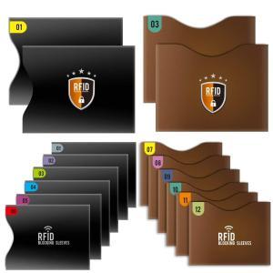 【個人情報に対する厳密な保護】 Tecboss カードホルダーはRFIDブロッキング技術を採用し、カ...