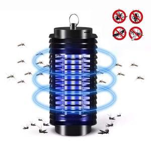 【UVライトと電撃で強力殺虫】害虫の好む光の波長で虫を誘い、高圧電流で瞬間的に虫を駆除できます。バチ...