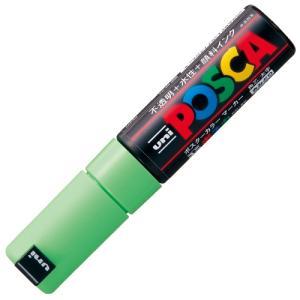 ◎三菱鉛筆 ポスカ PC-8K.5 太字 黄緑 ●お得な10パックセット|shimiz