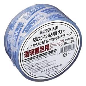 ◎セキスイ 透明梱包用テープ P83TK03 4...の商品画像