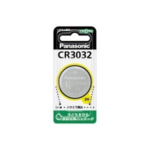 パナソニック リチウムコイン電池 CR3032  ●お得な10パックセット