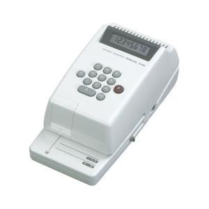 コクヨ 電子チェックライター IS−E20 電子式8桁 IS−E20 ◆代引不可◆|shimiz