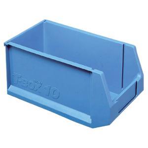 積水テクノ成型 ツールボックス 10L ブルー 外寸幅200×奥行360×高さ170mm TB−10B shimiz