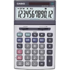 カシオ計算機 ジャスト型特大表示実務電卓 JS−200W−N JS−200W−N|shimiz