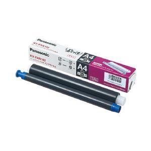 Panasonic  普通紙ファックス用インクフィルム KX−FAN142 KX-FAN142  ●お得な10パックセット