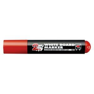◎コクヨ ホワイトボード用マーカー(ロング筆記) 中字丸芯 インク色:赤 PM-BL102R ●お得な10パックセット|shimiz