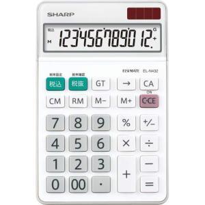 シャープ 中型電卓 EL−N432X 12桁 EL−N432X|shimiz
