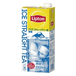 リプトン #リプトンストレートアイスティー無糖 1L×6本 454108 ◆代引不可◆|shimiz