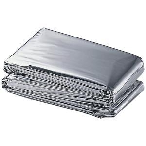 この一枚で、防寒・保温対策に。小さく折りたためて、保管場所をとりません。●防災用品●材質:アルミ蒸着...