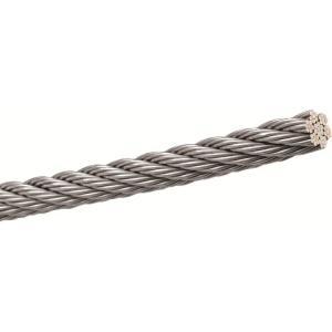 浅野金属工業(株) ステンレスワイヤーSUS304 7×7 3.5mm×200m AK9116|shimizu-kanamono