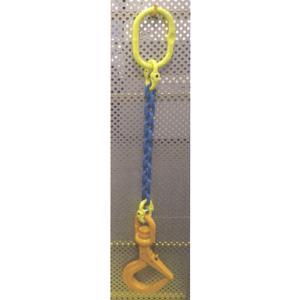 ・チェーンスリング。 ・敷き鉄板吊り用。 ・フックとチェーンはカップリングで結合。 ・フックはスイベ...