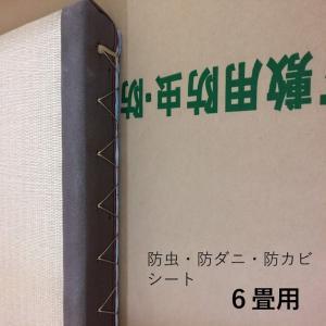防虫・防湿・防ダニ・防カビシート ホウ酸塩使用 約幅1mx11.5m 6畳用 日本製