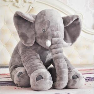 ●ぬいぐるみ 象 ゾウ ●素材:PP綿、ポリエステル ●サイズ: 60-80cm (手で測量のため、...