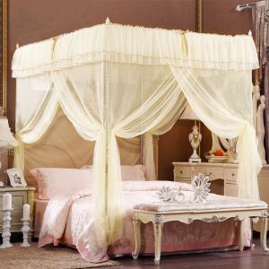 蚊やムカデなどの害虫から守れる蚊帳   風は通し、蚊は通さない! 夏の夜に窓を開けたまま安心して眠れ...