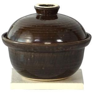 長谷園 いぶしぎん 燻製 土鍋 ミニ(1000ml) CK-10