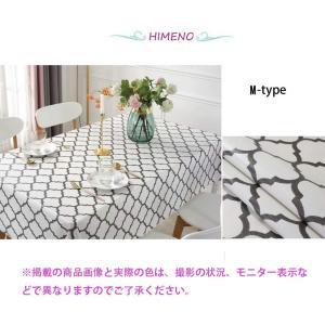 テーブルクロス 長方形 正方形 食卓カバー 柄物テーブルクロス 防水テーブルクロス テーブルカバー ビニール PVC おしゃれ ナチュラル|shimizunet004
