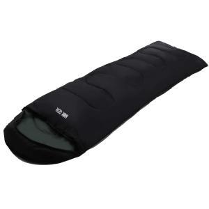 HAWK GEAR(ホークギア) 丸洗いできる寝袋 マミー型 シュラフ -15度耐寒 簡易防水 オールシーズン (ブラック(軽量タイプ)) shimizunet004