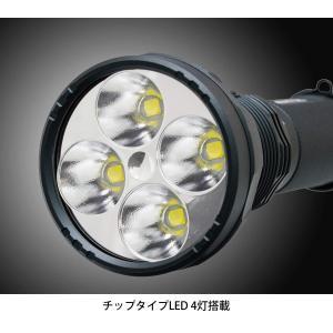 GENTOS(ジェントス) LED懐中電灯 充電式 明るさ1600ルーメン/実用点灯5時間 UT-618R shimizunet004