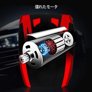 TOPERSUN 車用空気入れ エアコンプレッサー ハイプレッシャー電動ポンプ LEDライト付き 最大圧力150PSI 小型 電動ポンプ コ