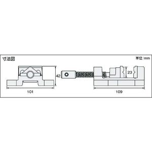 ホーザン(HOZAN) マシンバイス 万力 穴開け加工時の保持用バイス 口幅:50mm 最大口開幅:...