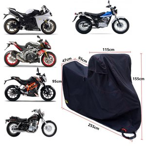 Ohuhu バイクカバー 300Dオックス製 大型 4Lサイズ バイク バイク用 カバー 高品質DT...
