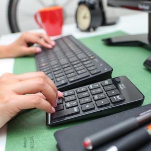Satechi ワイヤレス Bluetooth テンキー20キーWindows, Mac, Surf...