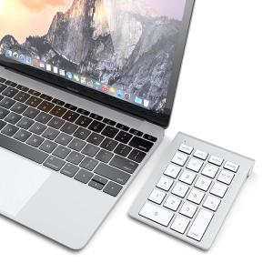 Satechi アルミニウム Bluetooth ワイヤレス テンキー TABキー (iMac Ma...
