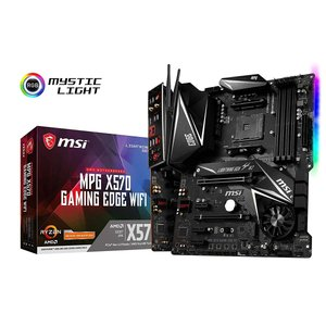 MSI MPG X570 GAMING EDGE WI-FI ATX マザーボード AMD X570...