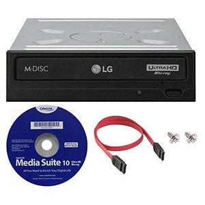 LG WH16NS60 16X 内蔵Blu-ray BDXL M-Discドライブ (with UH...