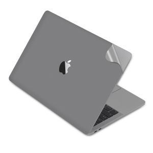 LENTION 13インチMacBook Pro 2018 / 2019 全面保護シルバースキンシー...