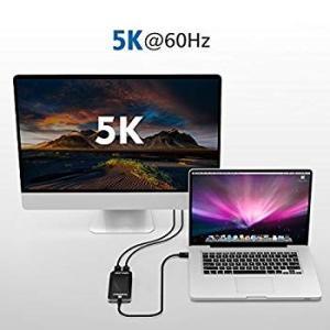 Wavlink サンダーボルト3 HDMIアダプター デュアル4K シングル5K ディスプレイアダプ...