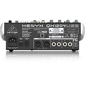 ベリンガー USBミキサー マルチエフェクター搭載 QX1204USB