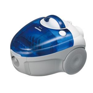 東芝 紙パック式掃除機 フローリングターボヘッドタイプ ブルー VC-PC6A(L)|shimizusyouten01