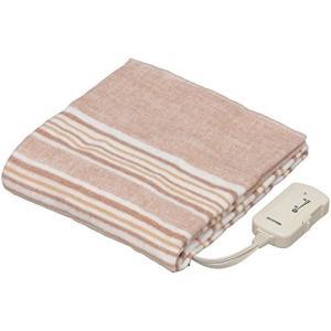 アイリスオーヤマ 丸洗いOK 電気敷き毛布 140×80cm EHB-1408-T