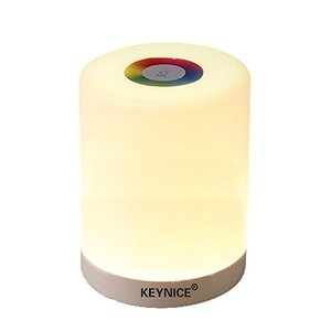 KEYNICE ベッドサイドランプ ナイトランプ コードレス 枕元ライト 室内照明 USB充電式 三...