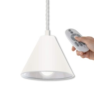 ottostyle.jp 1灯 ペンダントライト ダクトレールタイプ 直径18cm ホワイト +LED電球[調光・調色/E26/6W 700|shimizusyouten01
